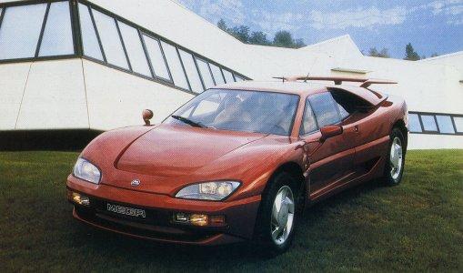 voiture rouge  Mega1