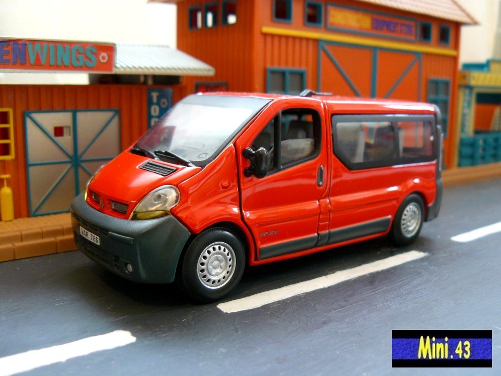 Renault Trafic Fourgonnette /& Minibus Hongwell 1//43 Multiples versions